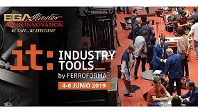 Foto de EGA Master expone en Industry Tools by Ferroforma 2019