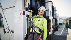 Foto de SafeUp: ni una caída más desde los camiones de basura