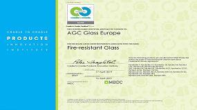 Foto de AGC obtiene la certificación Cradle to Cradle CertifiedTM Silver para Pyrobel y Pyrobelite