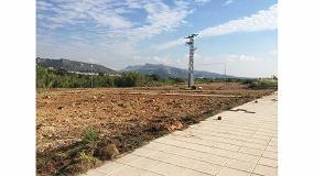 Foto de Se inician las obras del parque público de Ador financiado por Betelgeux-Christeyns