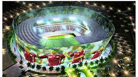 Foto de Energía Inmesol sin interrupción en la construcción del Al Rayyan Stadium para el Mundial de Catar 2022