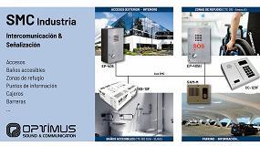 Foto de Optimus presenta sus soluciones de intercomunicación y señalización para edificios