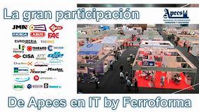 Foto de Apecs coordina una numerosa participación de empresas de cerrajería en IT by Ferroforma