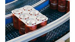 Foto de Estrella Damm empieza las pruebas para sustituir las anillas de plástico por cartón biodegradable