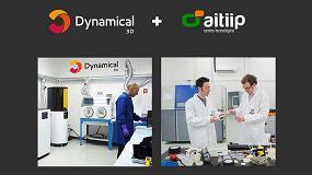 Foto de Dynamical 3D y Aitiip firman un acuerdo para expandir sus servicios en impresión 3D