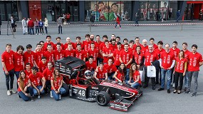 Foto de Fórmula Student, un certamen europeo en el que participan más de 3.000 estudiantes universitarios de ingeniería de todo el mundo