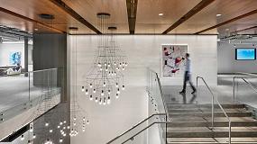 Foto de Vibia propone ideas inspiradoras para iluminar huecos de escaleras