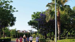 Foto de Guillena apuesta por la energía solar LED para la reapertura del Parque Los Naranjales