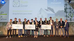 Foto de Pladur celebra la 29º Edición del Concurso Soluciones Constructivas con un motivo muy sostenible