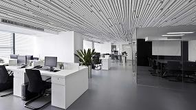 Foto de Hunter Douglas Architectural amplía la altura de sus paneles y las dimensiones modulares de su sistema de techos de fieltro