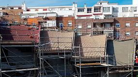 Foto de Rehabilitación energética e impermeabilización de los tejados de la Escuela de Arte de Algeciras con el sistema SIATE de Cubierta Onduline