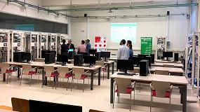Foto de Schneider Electric y la ULE inauguran un Aula Tecnológica IoT, la primera en Castilla y León