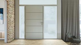 Foto de Technal desarrolla Dooral, su nueva puerta panelada