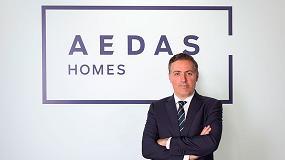 Foto de David Martínez, CEO de AEDAS Homes, nuevo presidente de Rebuild