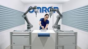 Foto de Producción rápida con robots móviles en una nueva fábrica inteligente