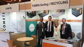 Foto de Tomra Sorting Recycling presenta en el 17°Congreso Nacional de la Recuperación y el Reciclado sus sistemas de separación de metal