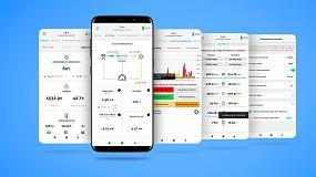 Foto de MyAmpere, la app de Ampere Energy que monitoriza las baterías para el autoconsumo inteligente