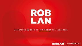 Foto de Roblan presenta su nueva imagen corporativa para conmemorar sus 50 años de historia