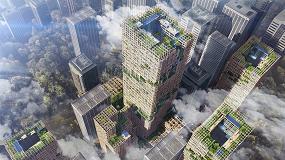 Foto de Rascacielos de madera: cada vez más numerosos, cada vez más altos