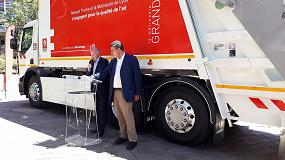 Foto de Lyon cuenta con un Renault Trucks D Wide Z.E.