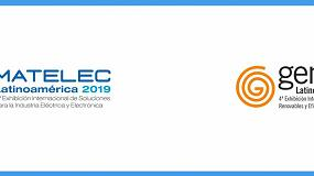 Foto de Matelec y Genera Latinoamérica 2019 se celebran junto a la III Feria y Conferencia de las Energías Renovables Expo ERNC