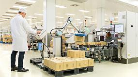 Foto de RNB Cosméticos confía parte de su producción a robots colaborativos