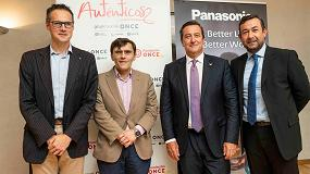 Foto de Panasonic y Fundación ONCE promueven la inclusión de las personas con discapacidad