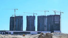 Foto de IDP suministra más de 35 grúas torre Potain para el desarrollo del mayor proyecto urbanístico de Egipto