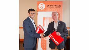 Foto de Canon firma un acuerdo con el Colegio de Economistas de Las Palmas para promover la transformación digital entre sus asociados