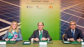 Foto de El BEI y el ICO suscriben con Iberdrola una financiación verde para la mayor planta solar fotovoltaica en construcción en Europa, ubicada en Extremadura