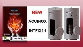 Foto de Acumuladores e interacumuladores en acero inoxidable Acuinox e Intfix1-I de Adisa