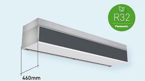 Foto de Panasonic desarrolla una nueva cortina de aire con batería de expansión directa