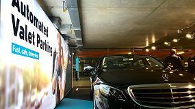 Foto de El sistema de aparcamiento sin conductor de Bosch y Daimler, autorizado en Baden-Württemberg