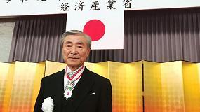 Foto de El presidente de Okuma recibe la Medalla de Honor japonesa