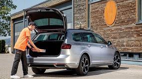 Foto de Volkswagen y Nacex estrenan el primer servicio de entrega de paquetes en el maletero del coche de España