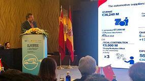 Foto de Sernauto muestra en Shanghái la potencia tecnológica de los proveedores españoles de automoción