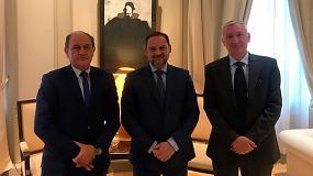 Foto de Reunión con el Ministerio de Fomento para presentar los avances de 'Aportando Profesionalidad' de Placo e Isover