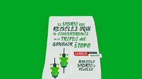 Foto de Ecovidrio instala más de 40 contenedores especiales para fomentar el reciclaje de vidrio durante 'La Vuelta 19'