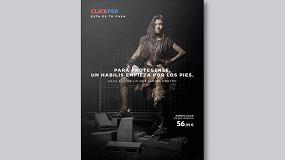 Foto de Clickfer lanza su nueva campaña de protección laboral 'Para protegerse, un habilis empieza por los pies'