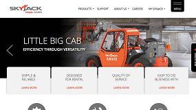 Foto de Skyjack renueva su página web con la movilidad como máxima prioridad