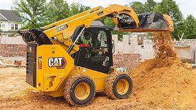 Foto de Caterpillar lanza la nueva Serie Cat D3 de minicargadoras de ruedas y cadenas