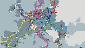 Foto de Los Corredores ferroviarios transeuropeos se frenan en España