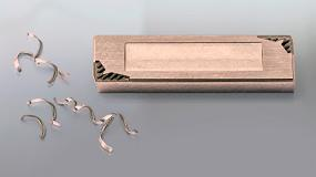 Foto de Mantener las virutas bajo control en el mecanizado fino de materiales de acero es posible