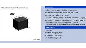 Foto de Relé HE-Y7, la solución para las aplicaciones de alta potencia