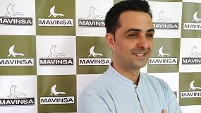 Foto de Entrevista a Carlos Suárez, responsable del departamento Import/Export de Mavinsa