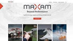 Foto de Maxam lanza su nueva web corporativa