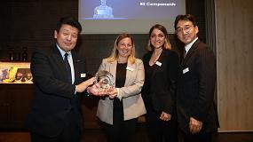 Foto de RS Components gana el premio de Omron al mejor distribuidor