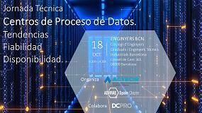 Foto de Ashrae Spain Chapter y Actecir organizan la jornada 'Centros de proceso de datos. Tendencias, fiabilidad y disponibilidad'