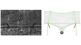 Foto de Barreras dinámicas de protección contra desprendimientos de muy bajo coste de mantenimiento, compuestas por redes de anillos Rocco de alta resistencia
