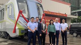 Foto de Bombardier finaliza la producción del primer vehículo sin conductor de la línea 14 de Metro de Shanghái
